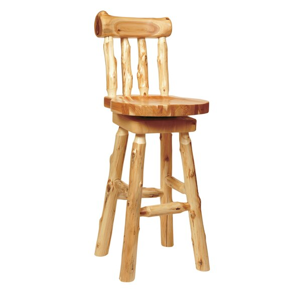 Lytle Swivel Bar & Counter Stool By Loon Peak