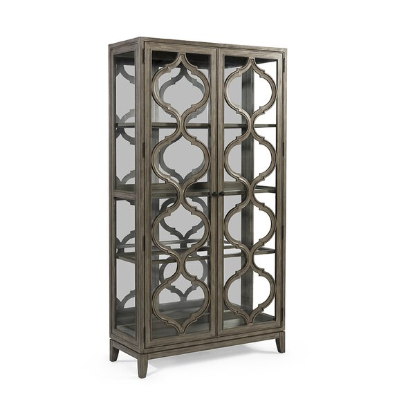 Jewell Lighted Curio Cabinet by Gracie Oaks