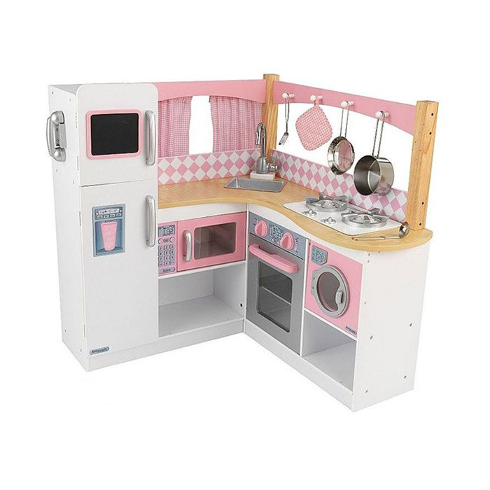 Charming Grand Gourmet Corner Kitchen Set