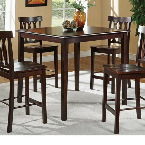 Ruck 5 Piece Counter Height Dining Set by Charlton Home