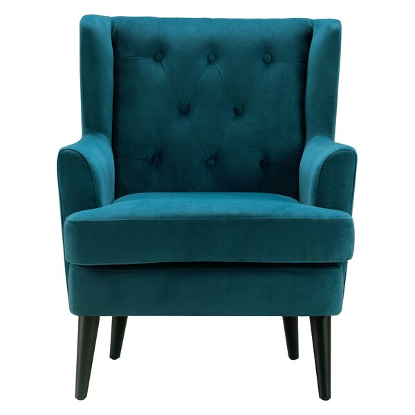 Celeste Wingback Chair by Elle Decor