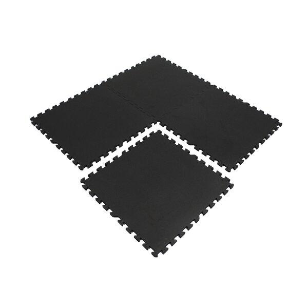 Extra Thick Exercise Foam Wonder Mat (Set of 4) by eWonderWorld