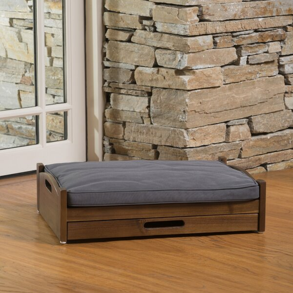 Darrius Wood Dog Bed by Archie & Oscar
