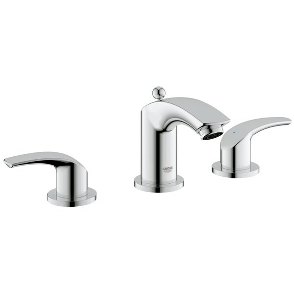 Eurosmart Widespread Bathroom Faucet with Drain Assembly