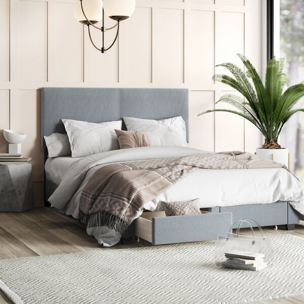 Colwell Upholstered Storage Standard Bed by Mercury Row