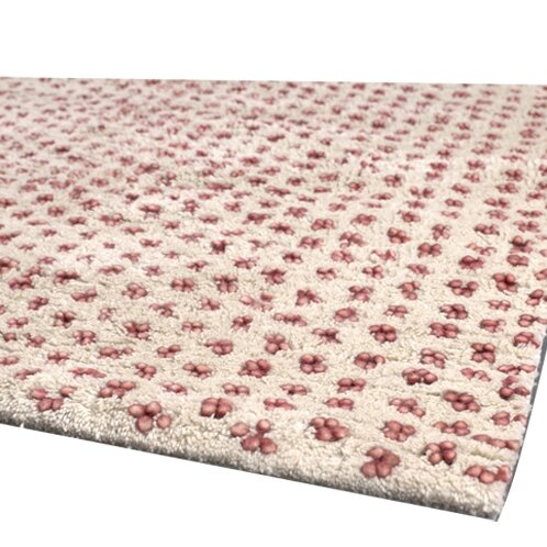 Strata Red/White Area Rug by Chandra Rugs