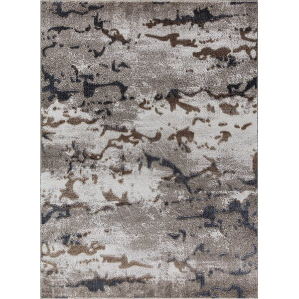 Acuna Beige Area Rug by Orren Ellis