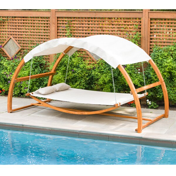 Agar Porch Swing by World Menagerie