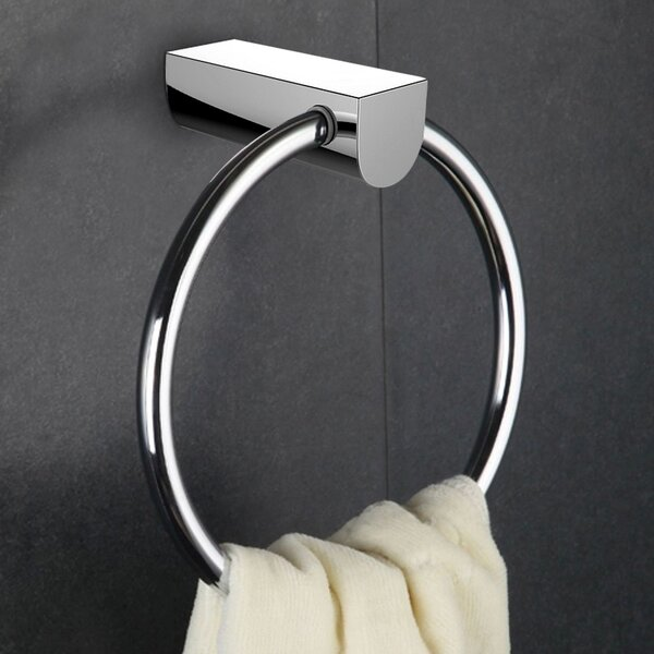 Brass Constructed Towel Ring by Royal Purple Bath Kitchen