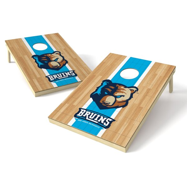 Bob Jones Hardwood Cornhole Game Set by Tailgate Toss