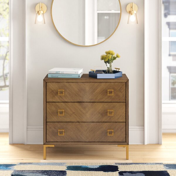 Val 3 Drawer Chest by Foundstone