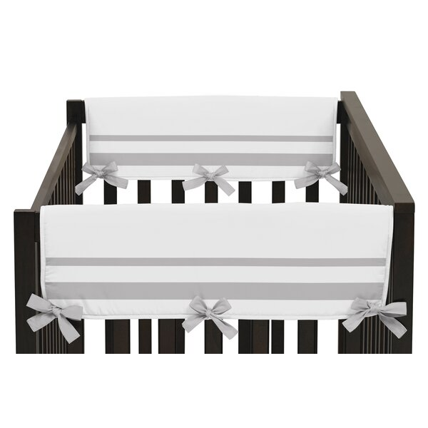 Hotel Side Crib Rail Guard Cover (Set of 2) by Swe
