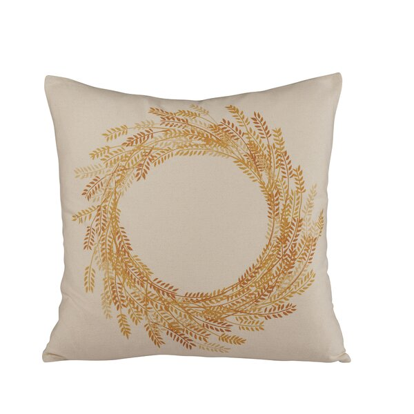 Autumn Wheat Pillow Cover by Birch Lane™