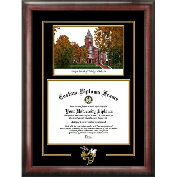 NCAA Georgia Tech Jackets Spirit Graduate Picture Frame by Campus Images