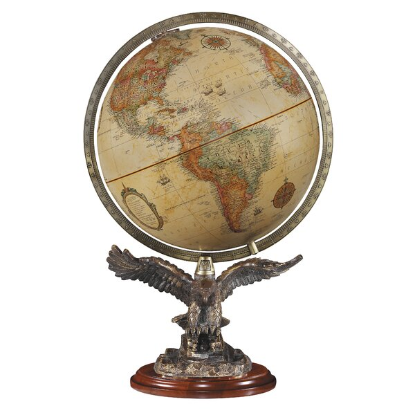 Freedom Antique World Globe by Replogle Globes