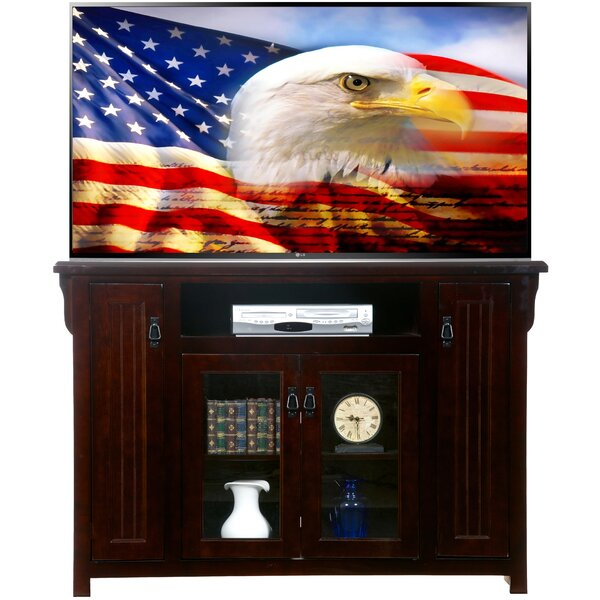 Speakman Solid Wood TV Stand For TVs Up To 65