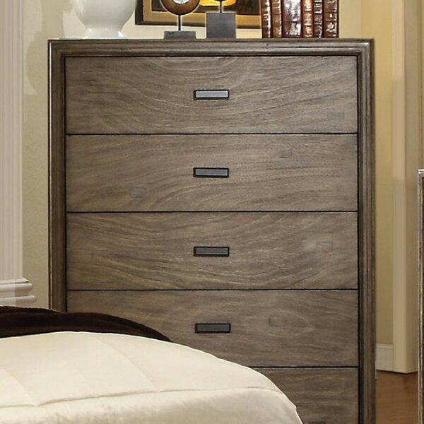 Blythewood Wood 5 Drawer Chest by Foundry Select
