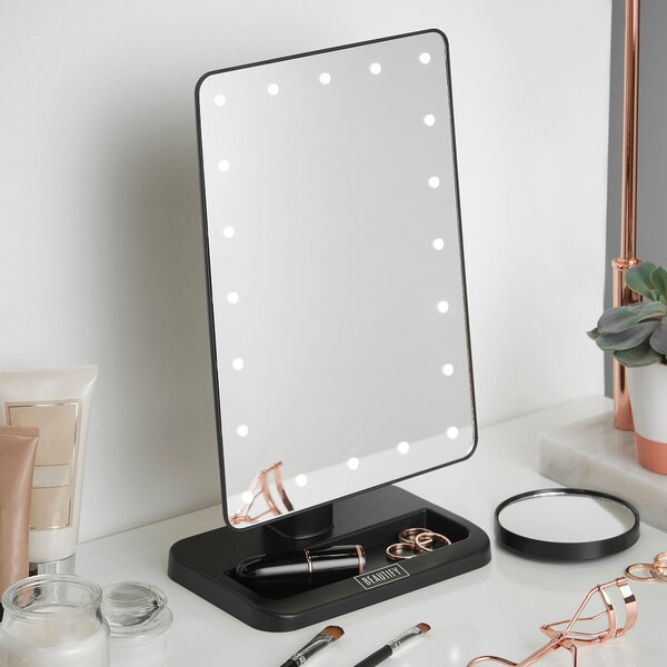LED Lighted Vanity Makeup Mirror by Beautify