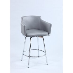 Looking for Carressa 26 Swivel Bar Stool by Orren Ellis