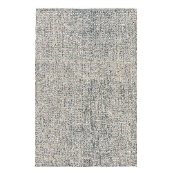 Pepin Handmade Tufted Wool Gray Area Rug