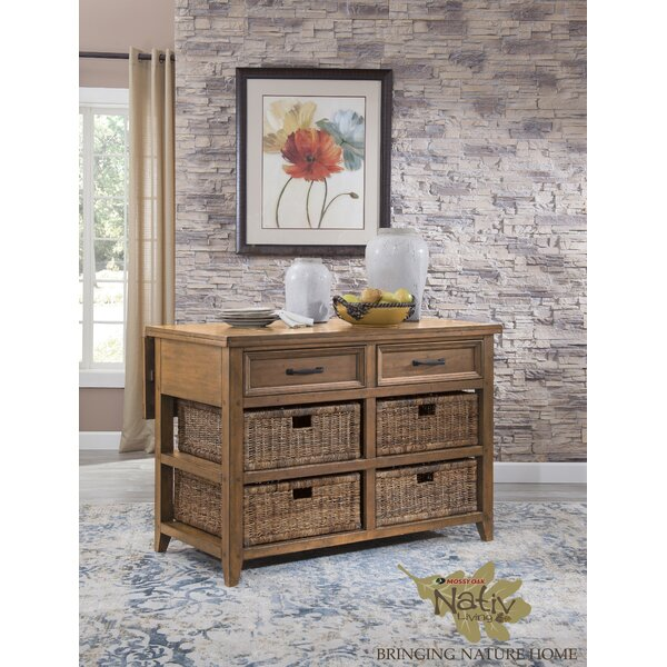 Kitchen Island Solid + Manufactured Wood by Mossy Oak Nativ Living
