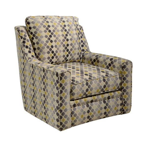 Sussex Swivel Armchair by Latitude Run