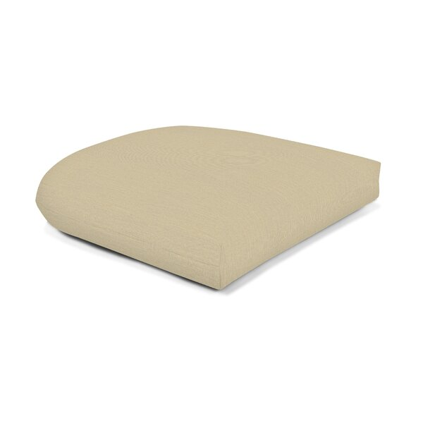 Indoor/Outdoor Sunbrella Seat Cushion by Wildon Ho