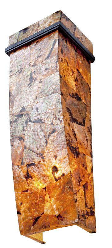 Big 2-Light Sustainable Shell Sconce
