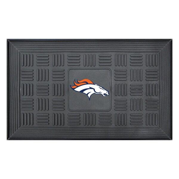 NFL - Denver Broncos Medallion Doormat by FANMATS