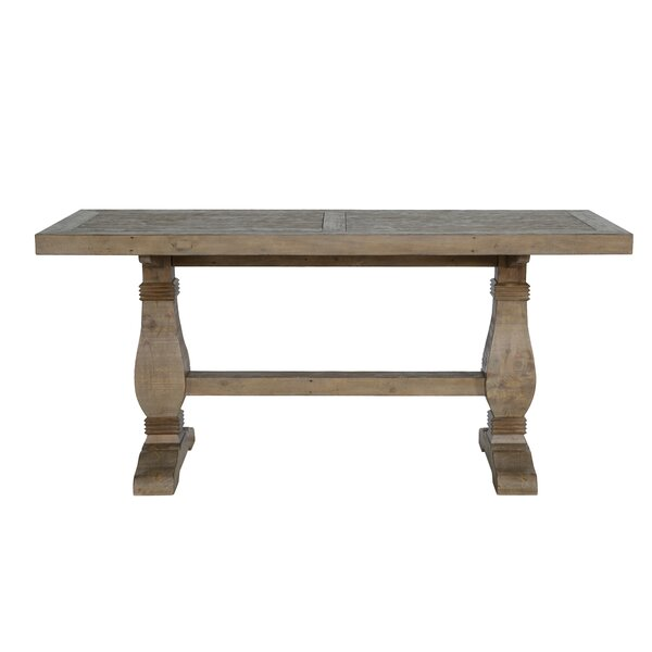 Gertrude Quincy Solid Wood Dining Table by Lark Manor Lark Manor