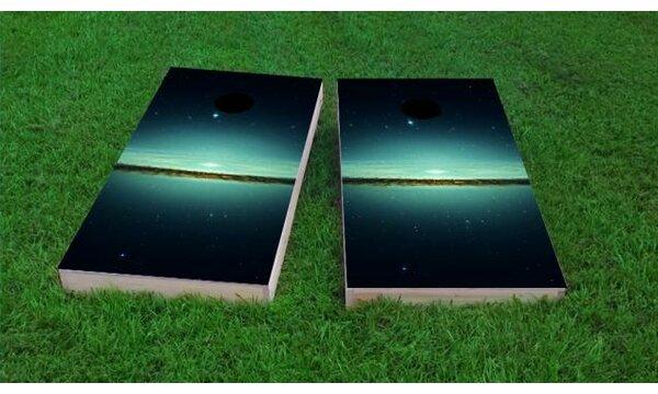Galaxy Cornhole Game (Set of 2) by Custom Cornhole Boards