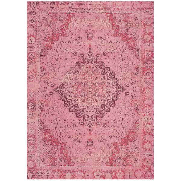 Chenault Fuchsia Area Rug by Bungalow Rose