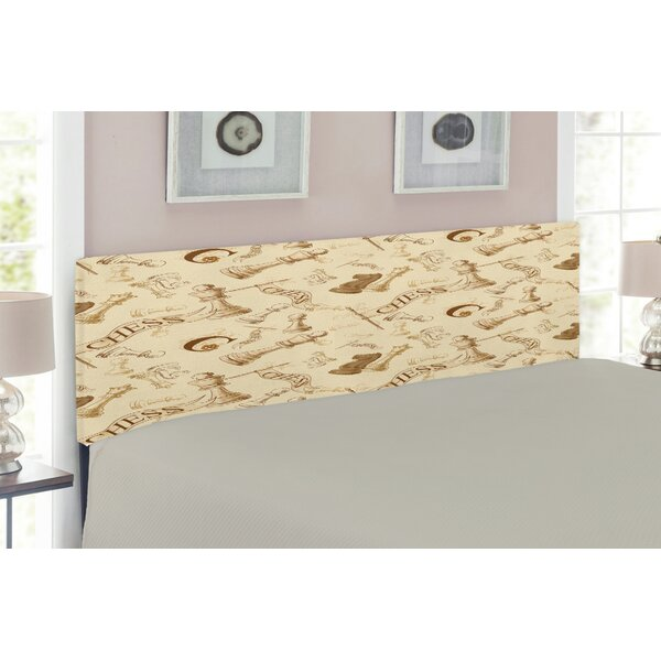 Upholstered Panel Headboard by East Urban Home