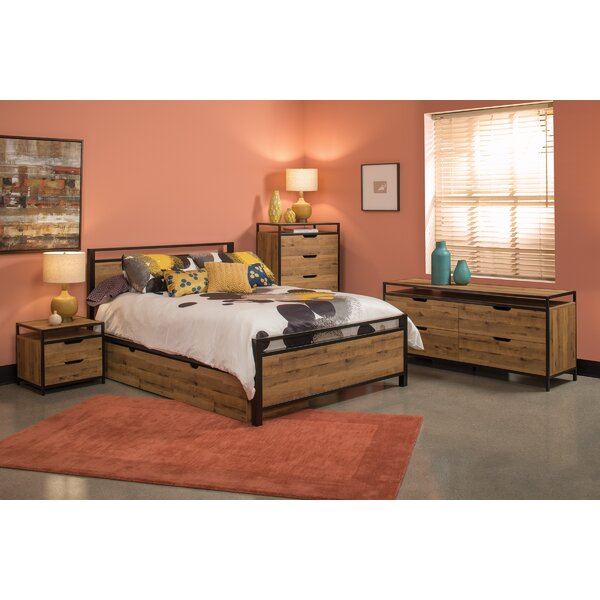 Truro Queen Standard 4 Piece Bedroom Set by Union Rustic