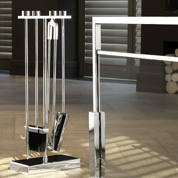 Wench 4-Piece Fireplace Tool Set By Eichholtz