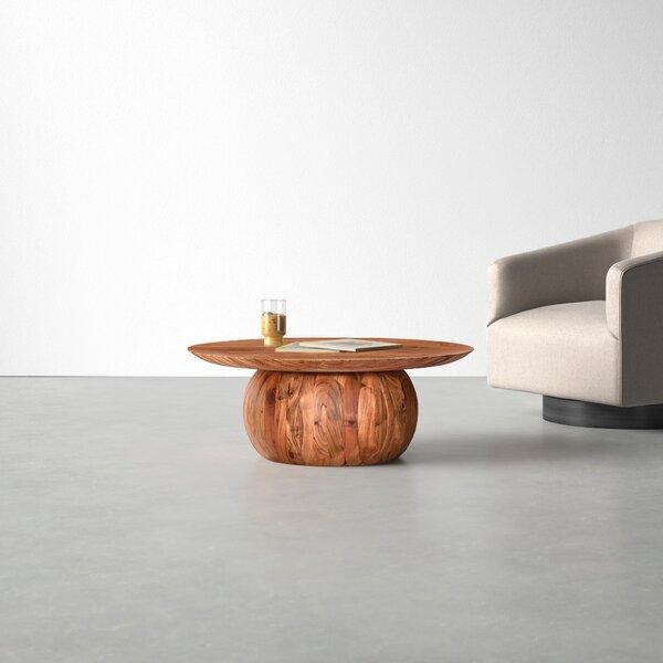 Modern Contemporary Wood Block Coffee Table Allmodern
