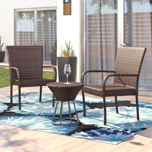 Aislin 3 Piece Conversation Set by Ebern Designs
