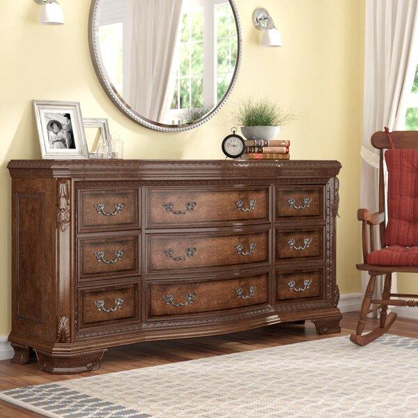 Brussels 9 Drawer Dresser by Astoria Grand