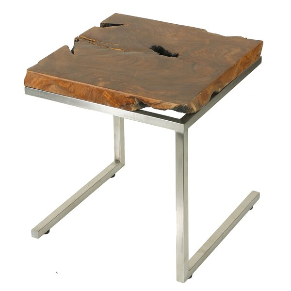 Corisande End Table by Union Rustic