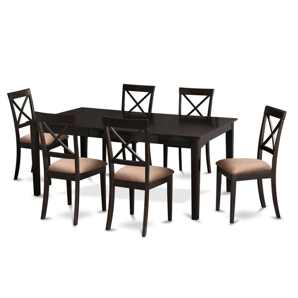 Burner 7 Piece Dining Set by Red Barrel Studio