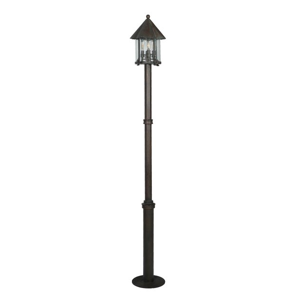 Myers 4-Light LED 86.7 Post Light by August Grove