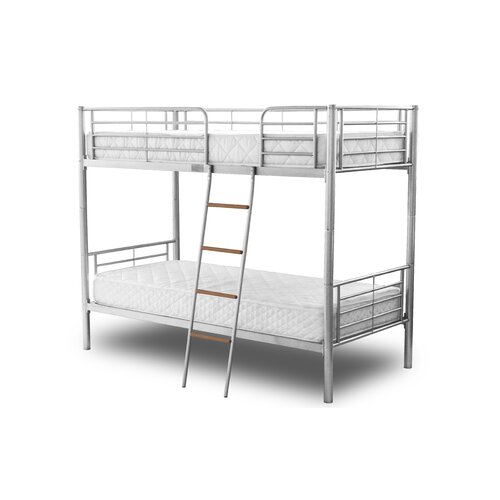 Metal Frame with Single Bunk Bed