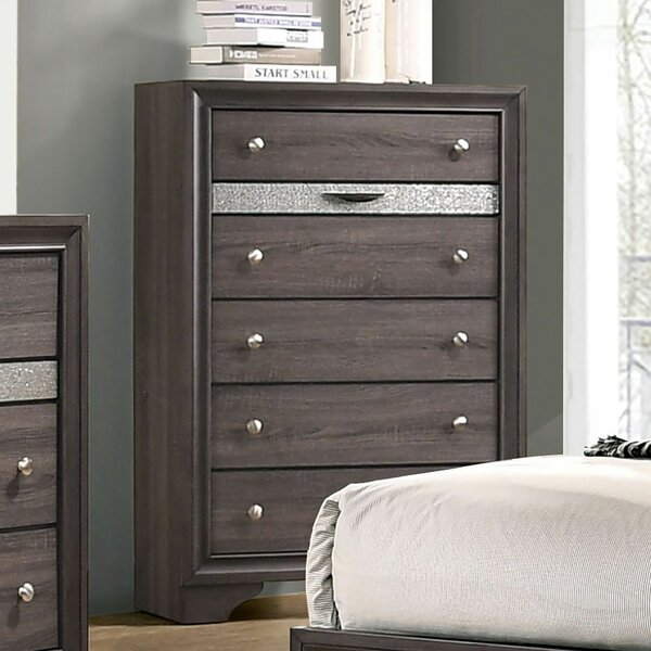 Stjean 5 Drawer Chest by House of Hampton