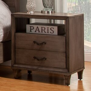 Oriane 1 Drawer Nightstand by Gracie Oaks