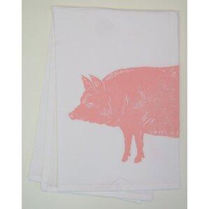 Pig Kitchen Towel