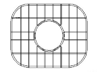 14 x 12.38 Sink Grid for Undermount Double Bowl Kitchen Sink by Empire Industries