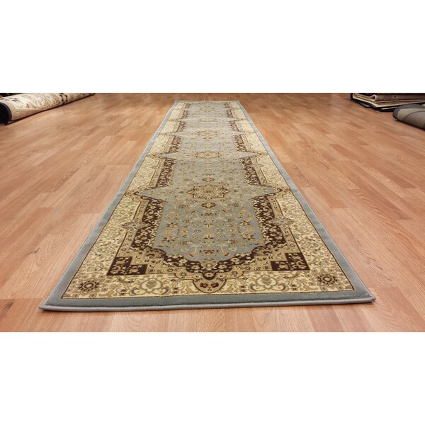 Silver/Beige Area Rug by Rug Tycoon