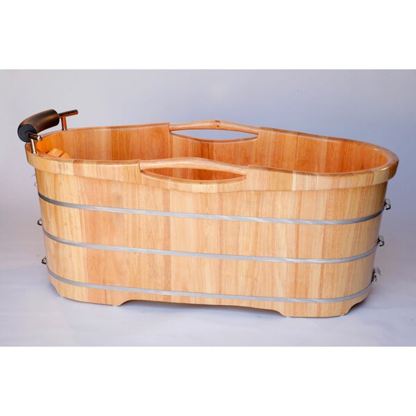 61 x 28 Soaking Indoor Bathtub by Alfi Brand