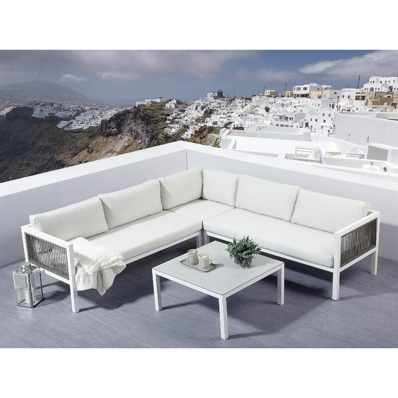 Catlett 2 Piece Sectional Seating Group with Cushions