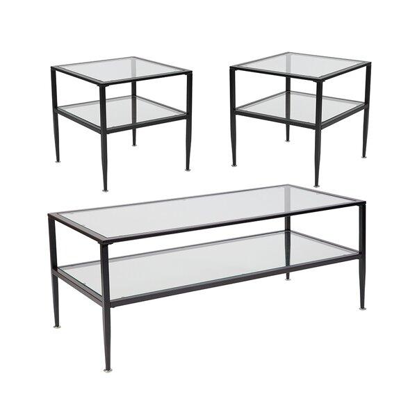 Baires 3 Piece Coffee Table Set by Latitude Run Latitude Run